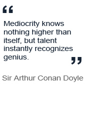 Quote from Sir Arthur Conan Doyle