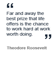 Quote from Theodore Roosevelt